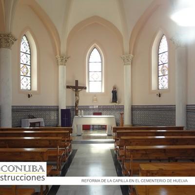 Detalle interior Reforma y rehabilitación Capilla del Cementerio