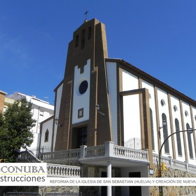 Reforma en Iglesia de San Sebastian en Huelva