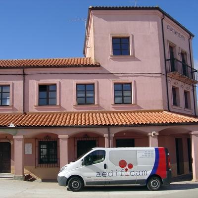 Tejado del Ayuntamiento de Cerecinos del Carrizal (Zamora)