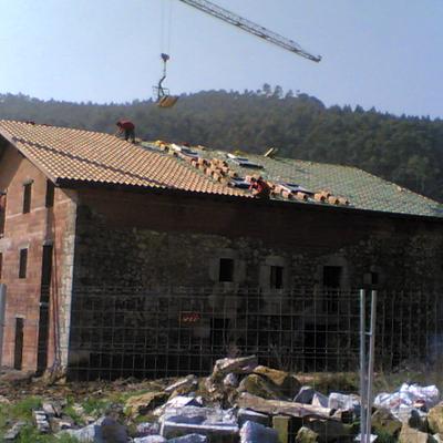 Tejado y restauración casa rústica