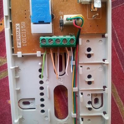 Presupuesto telefonillos online habitissimo for Cables telefonillo colores