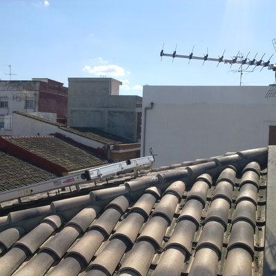 Instalación colector solar