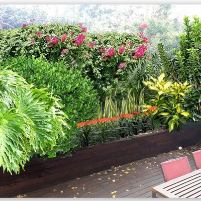 Una idea para una terraza interior