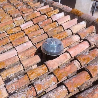 Terminación de Solatube en tejado
