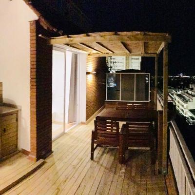 terraza exterior moderna atico