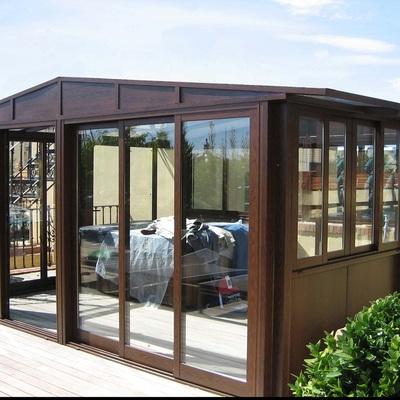 terraza cerramienrto aluminio