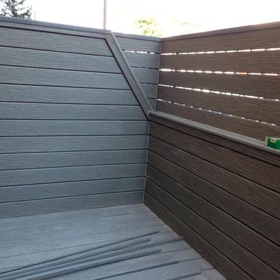terraza de tarima