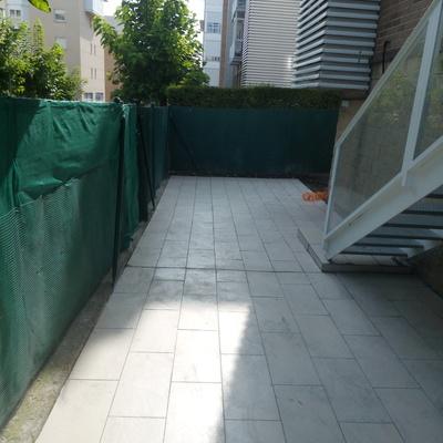 Terraza exterior Mendillorri