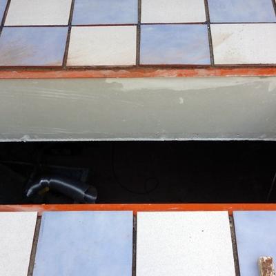 terraza impermeabilizada y suelo