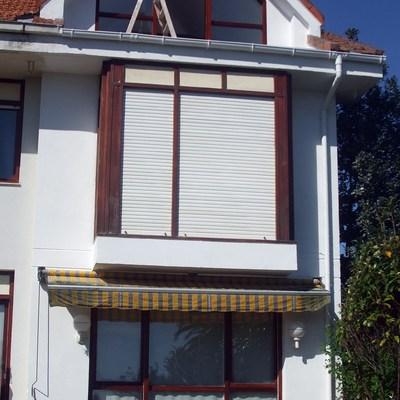 Terraza y fachada (obra completada)