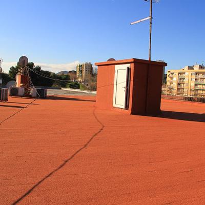 Terraza no transitable en vivienda plurifamiliar