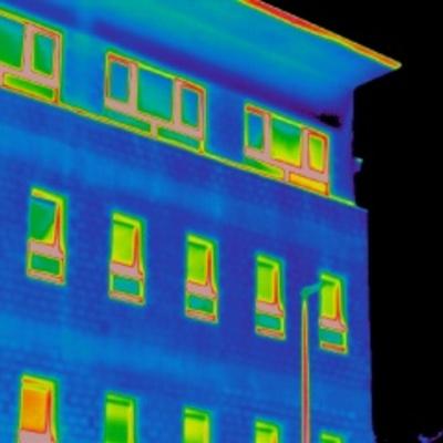 Estudio termográfico de fachada