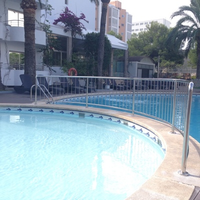 Barandilla piscina inox marino