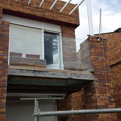 Nueva terraza en vivienda unifamiliar