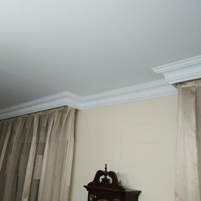 Decoracion de molduras en techos
