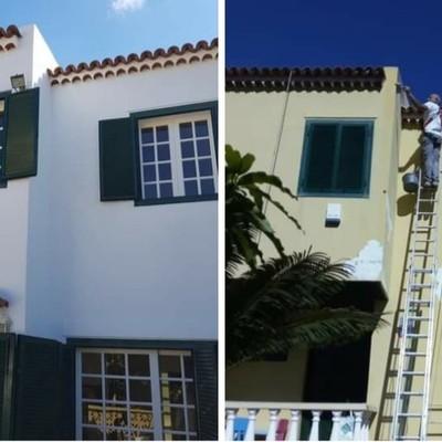 Pintura fachadas