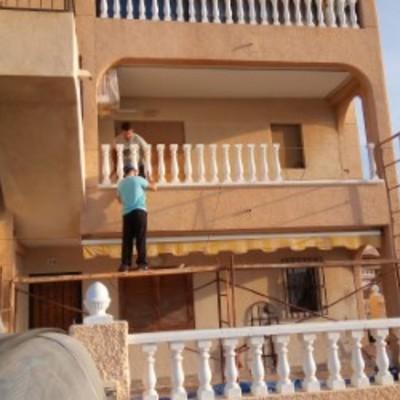 balcón de vivienda.