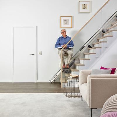 Silla Salvaescaleras Levant: Escaleras rectas