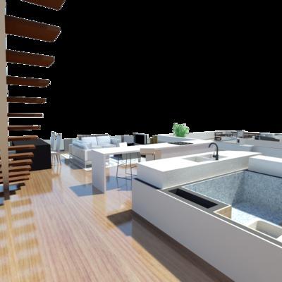 Imagen interior vivienda