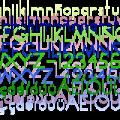 Tipografía Anxo
