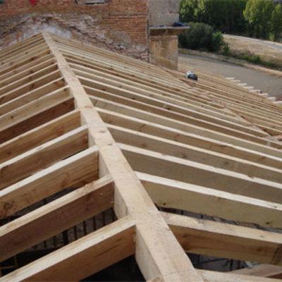 techo de madera,en tenerife
