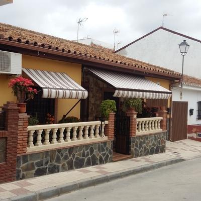 Toldos casa adosada