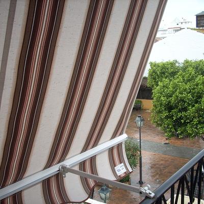 toldo de terraza o balcon
