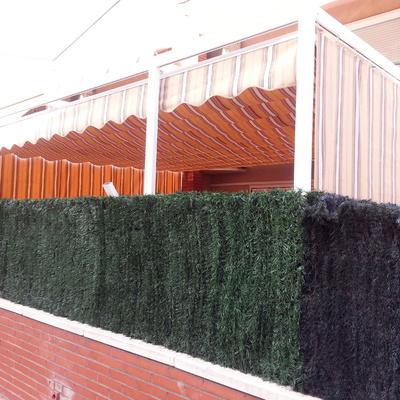 toldo palillero con cortinas laterales