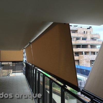 Instalacion de 13 toldos en Pinto - Madrid.