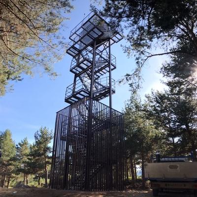 Torre de vigilancia contra incendios en Rascafría.