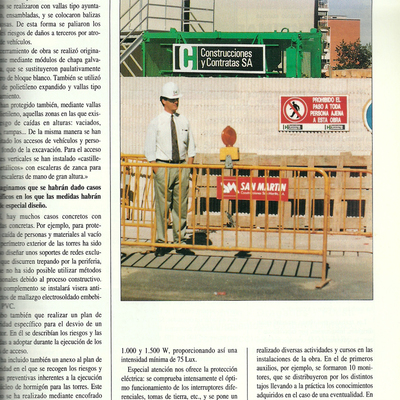 Torres Puerta Europa 1991