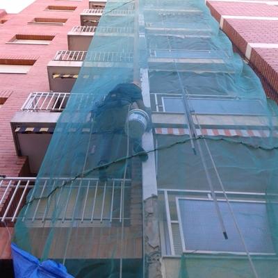 Reparacion en fachada