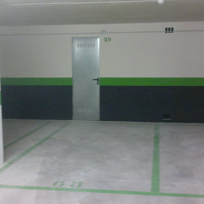 Pintura de garaje great saneamiento de paredes y techos y - Pintura de garaje ...