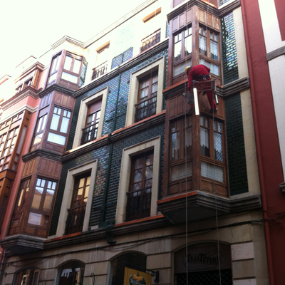 Trabajos verticales calle capua