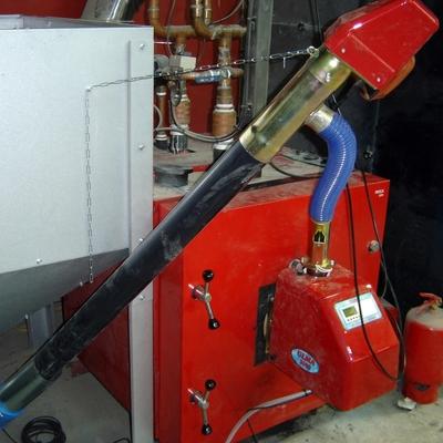 transformacion de caldera gasoil a biomasa