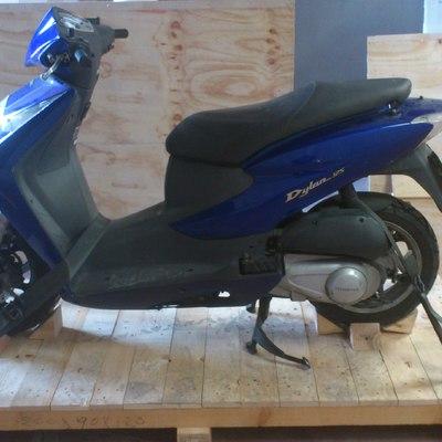 Trasladar una moto (mudanza internacional)