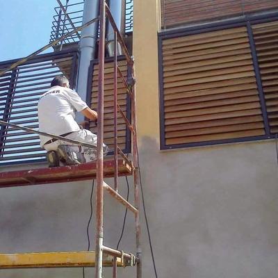tratamientos en elementos de madera.