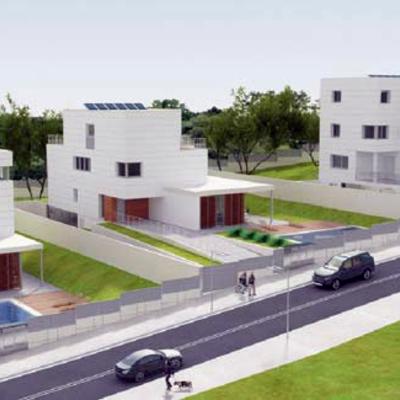 Tres viviendas aisladas en Valldoreix