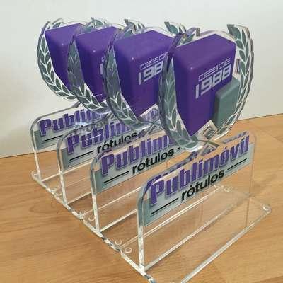 Trofeos en metacrilato