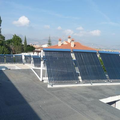 Instalación de energía solar en Piscina Climatizada de Beniel, Murcia