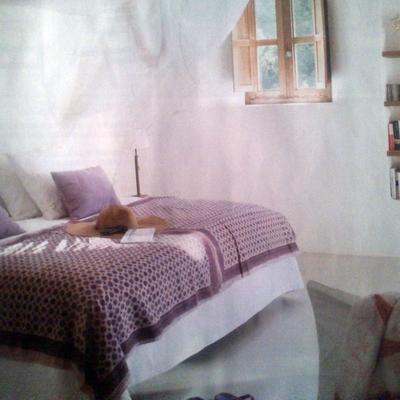 Un dormitorio con calidez