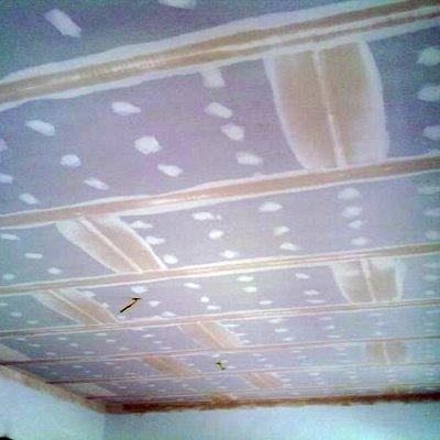 un simple falso techo