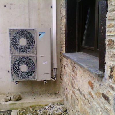 unidad exterior bomba de calor