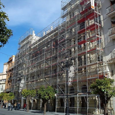 Fachada en Sant Vicenç