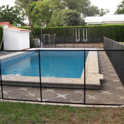 Valla para piscina, desmontable