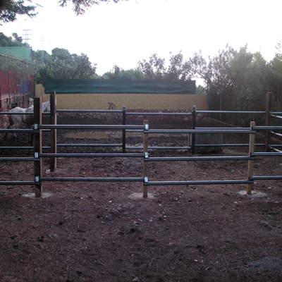 Vallado para caballos