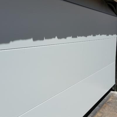 Panel liso ral blanco 9010