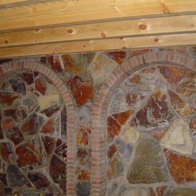 Decoración Salón rustico