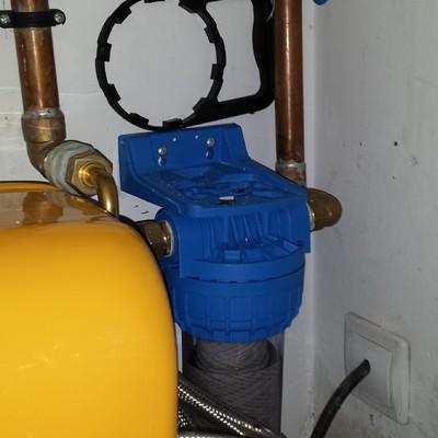 Vaso Pre filtro para descalcificador