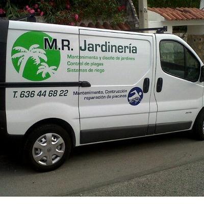 Vehiculo de la empresa.
